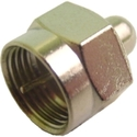 F Connector Terminator, 75 OHM