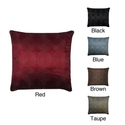 Circle Line Feather 20-inch Decorative Pillow