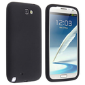 Black Silicone Skin Case for Samsung?? Galaxy Note