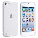White TPU Rubber Skin Case for Apple?? iPod Touch