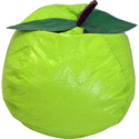 Hudson Lime Small/Toddler Vinyl Bean Bag