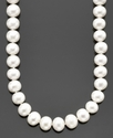Belle de Mer Pearl Necklace, 18   14k Gold AA Cult