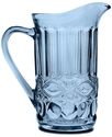 Drinkware, Modern Vintage Prosperity Blue Pitcher