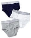 Boys 3-Pack Cotton Briefs