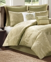 Largo 8 Piece Full Comforter Set Bedding
