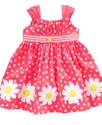 Girls Dress, Baby Girls Embroidered Daisy Sundress