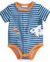 Baby Bodysuit, Baby Boys Striped French Creeper