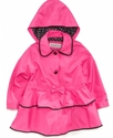 Kids Jacket, Little Girls Hooded Trench Coat
