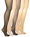 Sheer Hosiery, Queen Size Silky Extra Wear Control