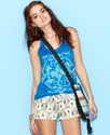 Juniors Top, Sleeveless Tribal-Print Tank