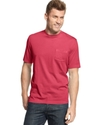 Big and Tall Shirt, Crew Neck T-Shirt with Chest P