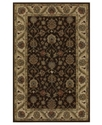 Dalyn Area Rug, Jansi JW33 Chocolate 3'6   x 5'6
