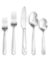 Flatware, Nanette Sand 65 Piece Set