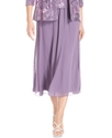 Skirt, Chiffon Tea-Length