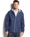 Coat, Water Resistant Hooded Rain Jacket
