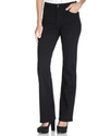 NYDJ Boot Cut Jeans, Sarah Stretch Black Wash