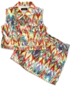 Kids Vest, Girls Aztec Print Vest