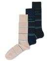 Men's Socks, Stripe Single Pack