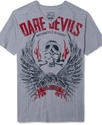 Shirt, Dare Devil Short Sleeve V Neck T Shirt