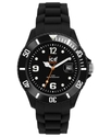 Watch, Women's Sili Forever Black Silicone Strap 4