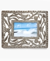 Heart of Haiti Picture Frame, Open Leaf 4   x 6