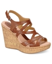 b.o.c. by Born Shoes, Brygida Platform Wedge Sanda