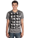 Cut &amp; Sew T Shirt, Stud Finder Graphic T Shirt
