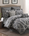 Stanton Lattice 10 Piece King Comforter Set Beddin