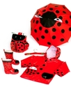 Kidorable   Ladybug   Rain Boots