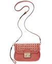 SR Squared by Sondra Roberts Handbag, Studded Cros