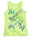 GUESS Kids Shirt, Girls Sequin Tank Top