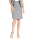by ASL Petite Skirt, Tweed Pencil