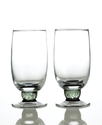 Glassware, Set of 2 Jet Highball Glasses