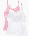Kids Tanks, Girls 2 Pack Camisoles