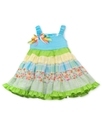 Baby Dress, Baby Girls Multi-Tier Seersucker Dress