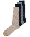 Men's Socks, Diagonal Rep Stripe Single Pack