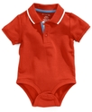 Baby Bodysuit, Baby Boys Solid Short-Sleeved Polo