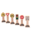 Kids Toys, Whittle World Traffic Signs Set