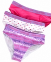 Kids Underwear, Girls 3 Pack Bikini