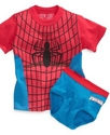 Kids Set, Toddler Boys Spider-Man T-Shirt and Unde