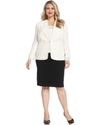 by ASL Plus Size Suit, Laser-Cut Jacket, Shell &amp; S