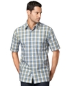 Big and Tall Shirt, Faux Linen Woven Shirt
