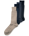 Men's Socks, Fine Stripe Luxury Dress Men's Socks
