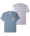 Shirt, Every Day Value Print Trim T Shirt