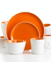 Dinnerware, Mango Color Burst 16 Piece Set