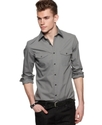 Shirt, Long Sleeve Double Pocket Shirt