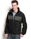 Coat, Bolton Open Bottom Colorblocked Hipster Jack