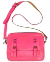 Handbag, Over-Dyed Leon Flap Crossbody