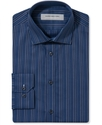 Dress Shirt, Slim-Fit Stripe Long Sleeve Shirt