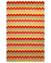 Liora Manne Area Rug, Seville 9666/44 Zigzag Strip